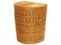 Wäschekorb halbrund