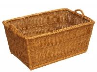 Wäschekorb traditionell eckig
