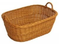 Wäschekorb traditionell oval