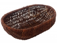 Brotschale oval Rohweide