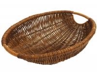 Brotschale oval mit Henkel