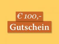 Gutschein € 100