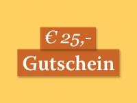 Gutschein € 25