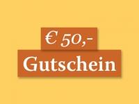 Gutschein € 50